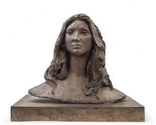 GIACOMO MANZU' (1908-1991) Busto di Daniela