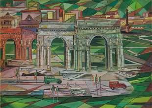 BONETTI UBERTO (1909-1993) Genova (fine anni