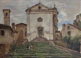 MICHELE CASCELLA (1892-1989) Paesaggio