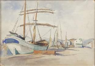 RAFFAELE DE GRADA (1885-1957) Senza