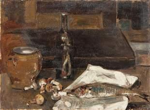 FILIPPO DE PISIS (1896-1956) Natura morta con