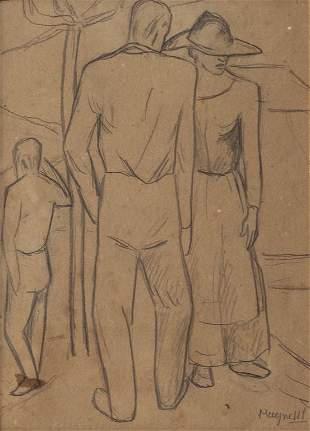 ALBERTO MAGNELLI (1888-1971) Senza