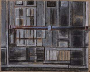ORFEO TAMBURI (1910-1994) Bottega grigia