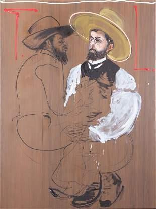 ALDO MONDINO (1938-2005)  Toulouse Lautrec