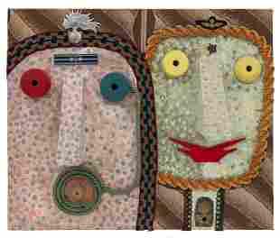 ENRICO BAJ (1924-2003) A couple of noses