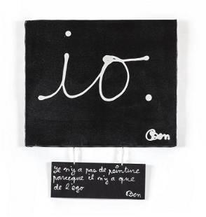 BEN VAUTIER (1935-) Il n