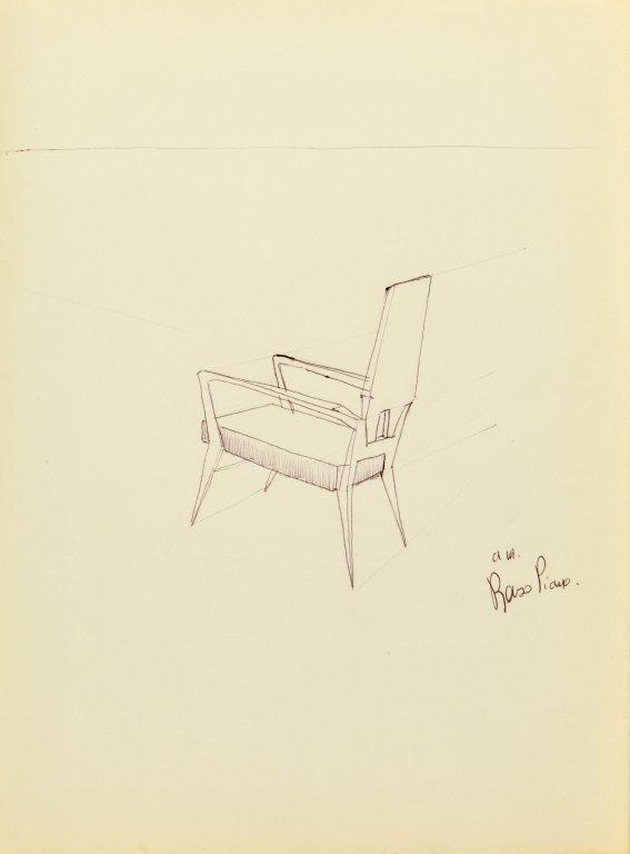 PIANO RENZO (1937-)  Cartella di 12 disegni