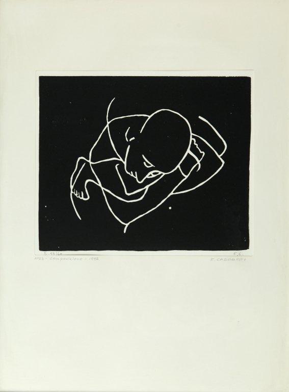 FELICE CASORATI (1883-1963)  Sei xilografie