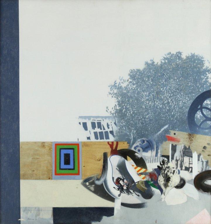 GIANFRANCO FERRONI (1927-2001)  Oggetti e