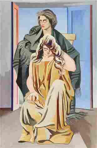 ALBERTO MAGNELLI (1888-1971) Due donne