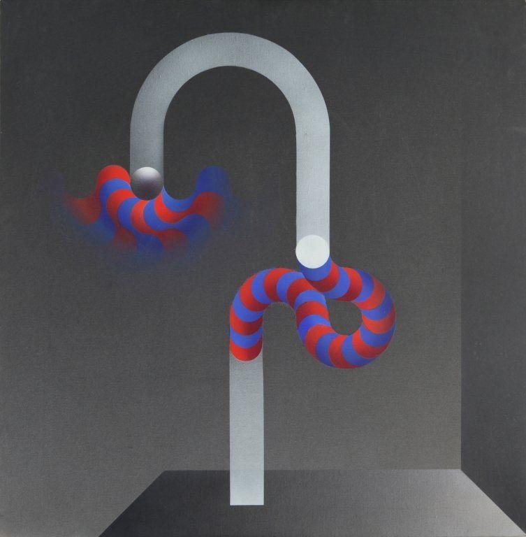 JULIO LE PARC (1928-) Modulation 1110