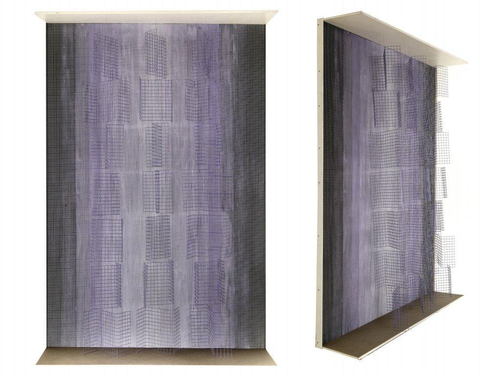 BRUNET CONTRERAS (1927-)  Cine colonnes violet