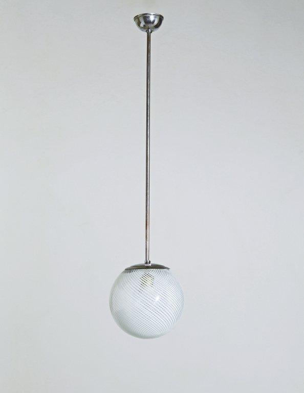 VENINI  Una lampada a sospensione, anni '30.