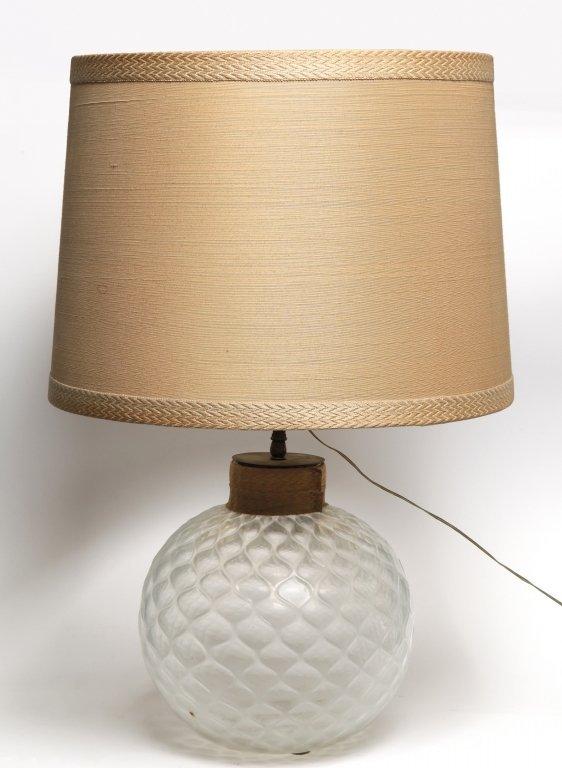 ERCOLE BAROVIER Una lampada da tavolo per