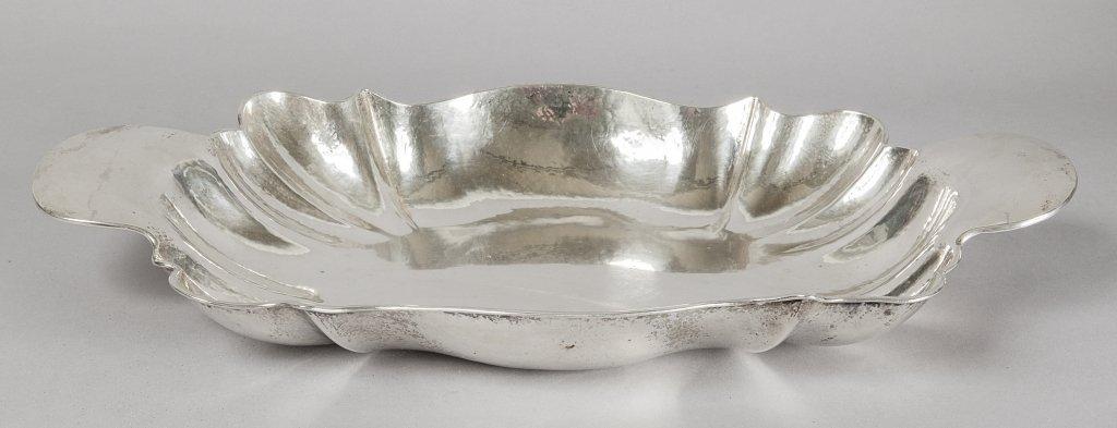 Risottiera con manici in argento
