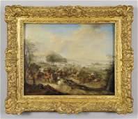 """Carel Breydael (1678-1733) """"Battaglia di"""