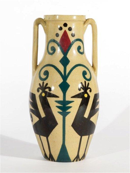 FEDERICO MELIS Un vaso in ceramica, anni '30. - Apr 16, 2014 | Aste di Antiquariato Boetto in Italy