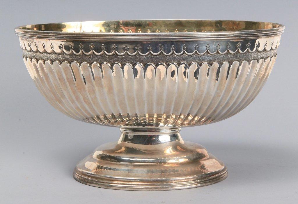 Alzata centrotavola in argento vermeille (gr.540)