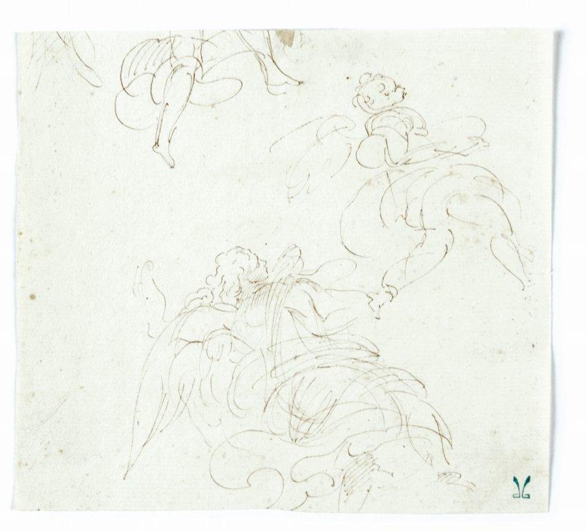 """Attribuito a Donato Creti (1671-1749) """"Angeli"""