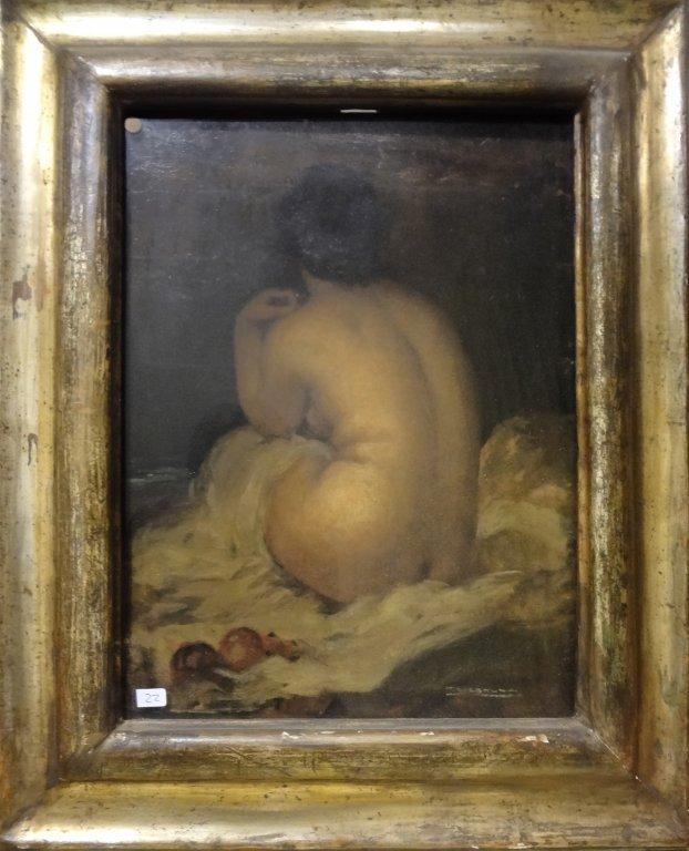 TITO CORBELLA (1885-1966)  Nudo di