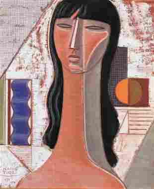 MARIO TOZZI (1895-1979) Testa e involucro
