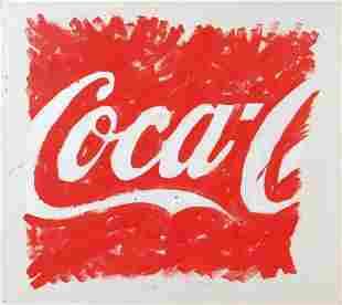 MARIO SCHIFANO (1934-1998) Coca Cola 1974