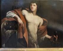 Antonio Spada att Davide con la testa di