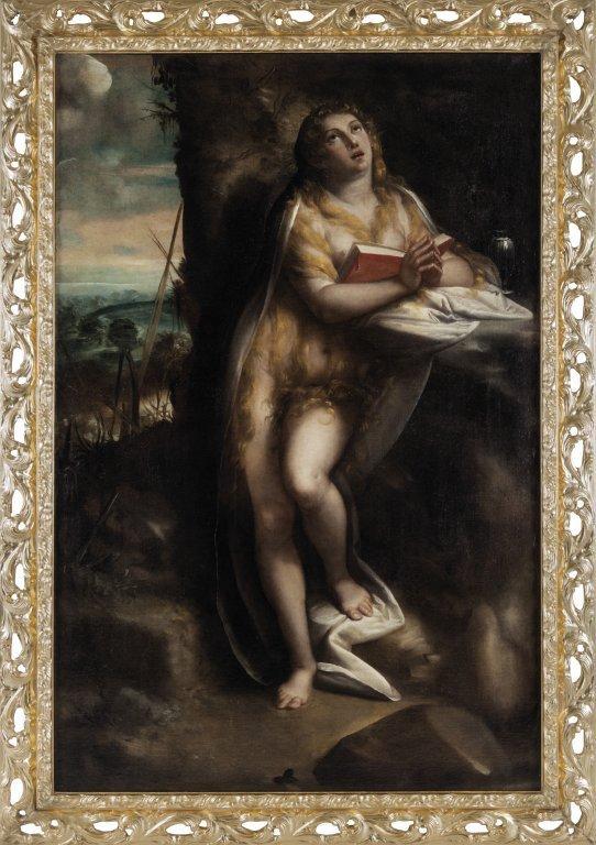 LUCA CAMBIASO (1527-1585)  Maddalena  Olio