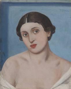 POMPEO BORRA (1898-1973) Figura di donna