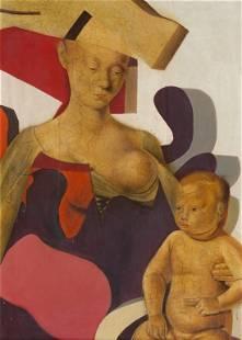 CAMINATI AURELIO (1924-2012) Maternità , Museo