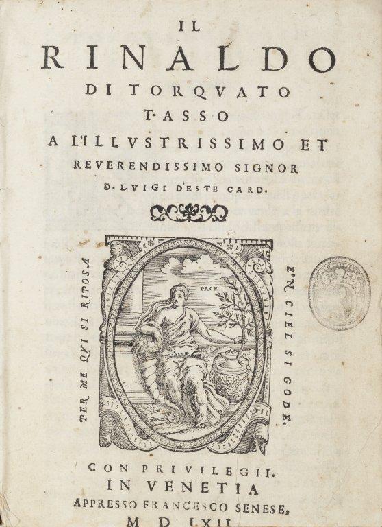Torquato Tasso (Sorrento, 1544 - Roma, 1595)