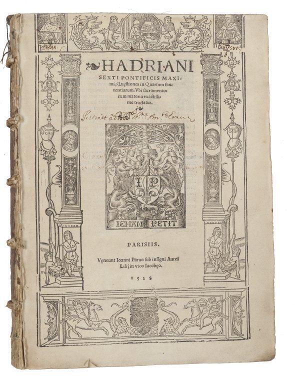 "Adriano VI "" Adrian VI - Hadrien VI (Adriaan"