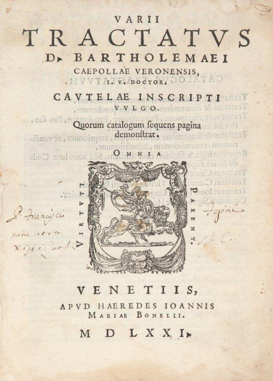 Bartolomeo Cipolla (Verona 1420ca - Padova,