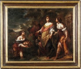 "Francesco Botti (firenze 1640-1711) ""ritrovamneto"
