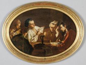 """Scuola Veneta Sec.xviii """"l'allegoria Delle Arti"""""""