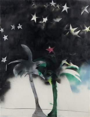 MARIO SCHIFANO (1934-1998) Tutte stelle