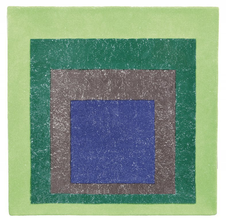 ALBERS JOSEF (1888-1976)  Study for homage to