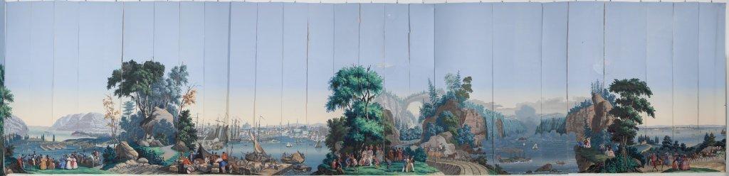 """Papier peint """"Veduta panoramica della Louisiana"""""""