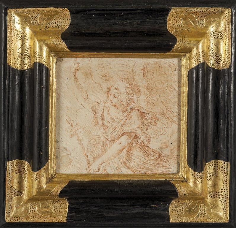 """SIMONE CANTARINI (1612-1648)  """"Annunciazione"""""""
