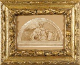 """Francesco Vanni (1563-1610) """"lunetta Con"""