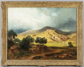 Bernard Fries (1820-1879) Veduta Di