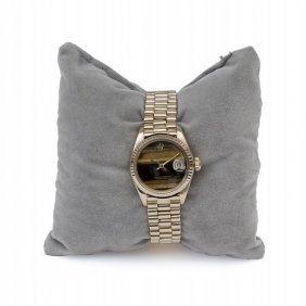 Orologio In Oro Giallo Marca Rolex, Misura Donna