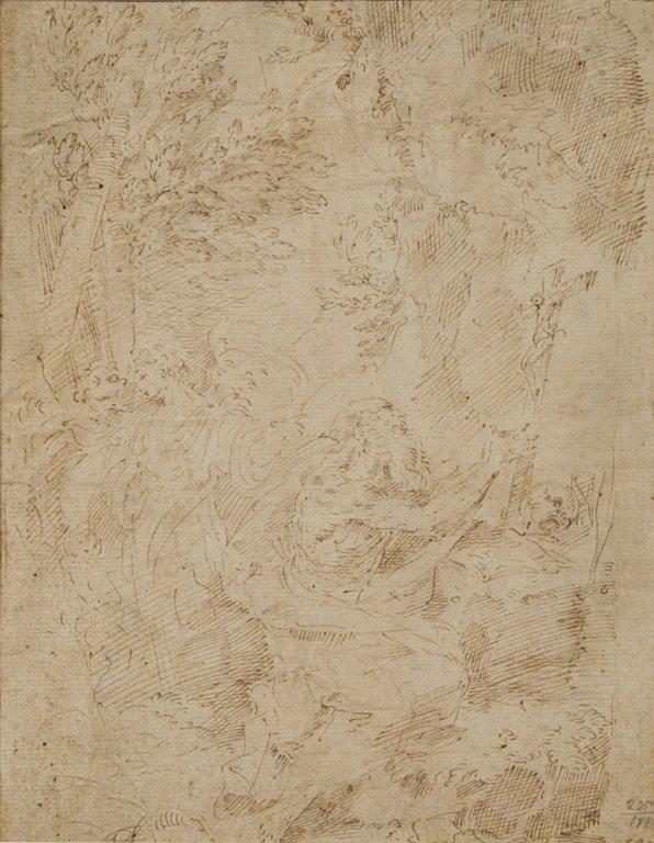 """DONATO CRETI (1671-1749)  """"San Gerolamo"""