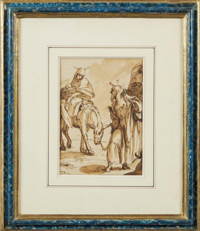 "LUCA CAMBIASO (1527-1585)  ""Fuga in"