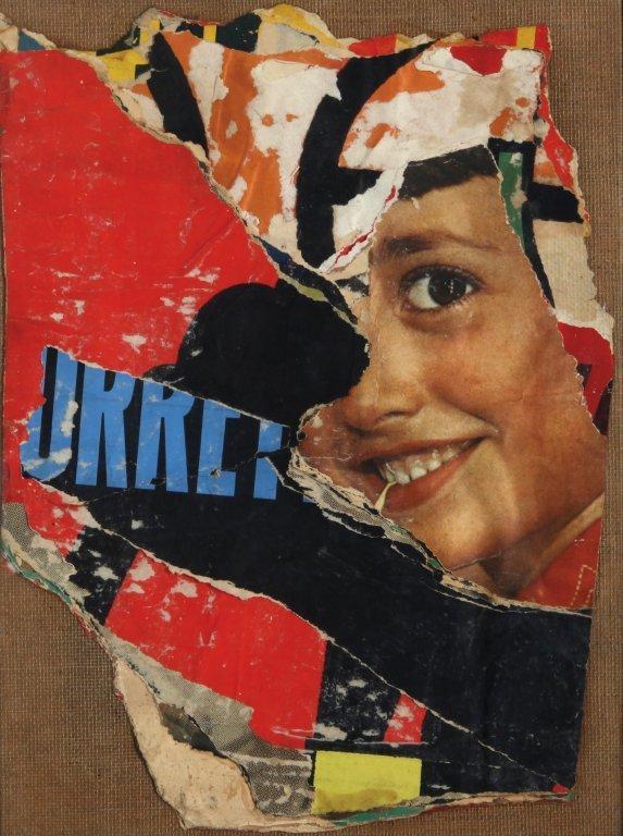 MIMMO ROTELLA (1918-2006)  Cosa fai baby