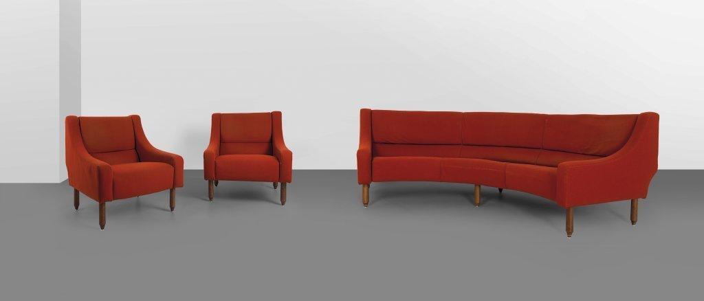 """SERGIO ASTI  un divano e due poltrone """"884"""""""