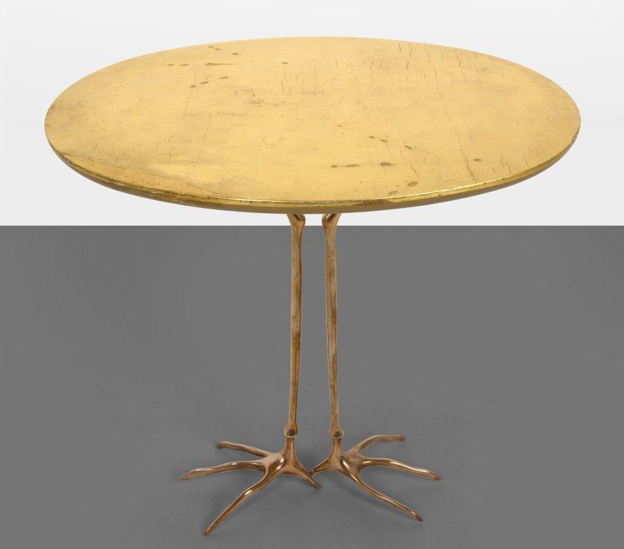 """MERET OPPENHEIM  Un tavolino """"Traccia"""" per"""