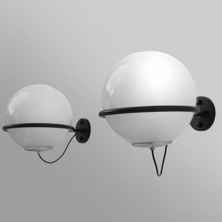 "GINO SARFATTI  Due lampade da parete ""239/1"""