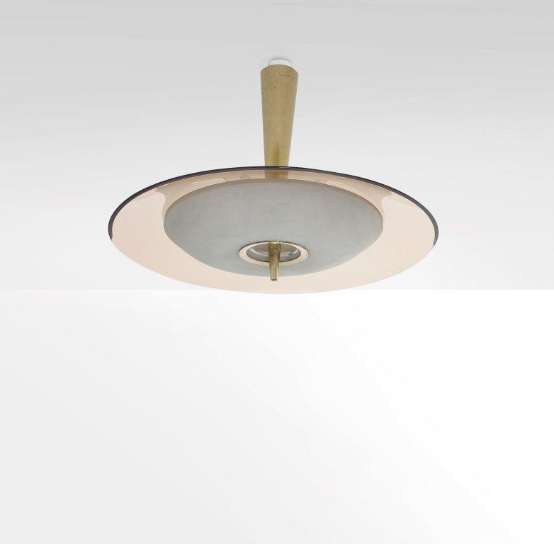 """FONTANA ARTE  Un lampadario modello """"1462"""","""