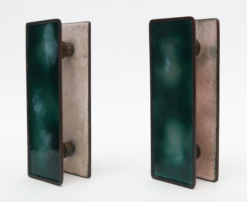 PAOLO DE POLI Due coppie di maniglie per porte